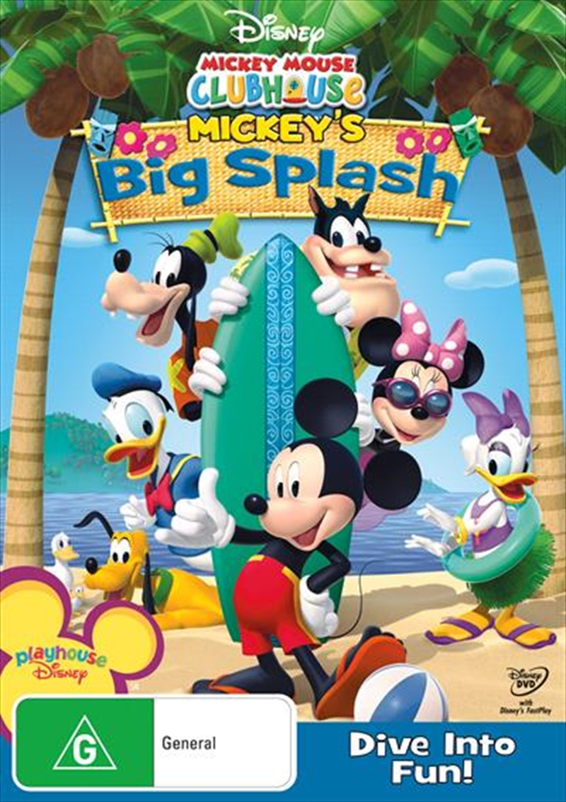 Mickey Mouse Clubhouse - Mickey's Big Splash | DVD