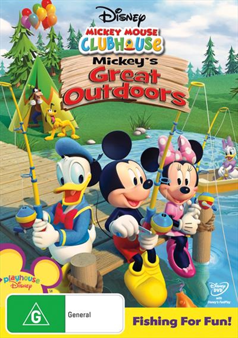 Mickey Mouse Clubhouse - Mickey's Great Outdoors | DVD