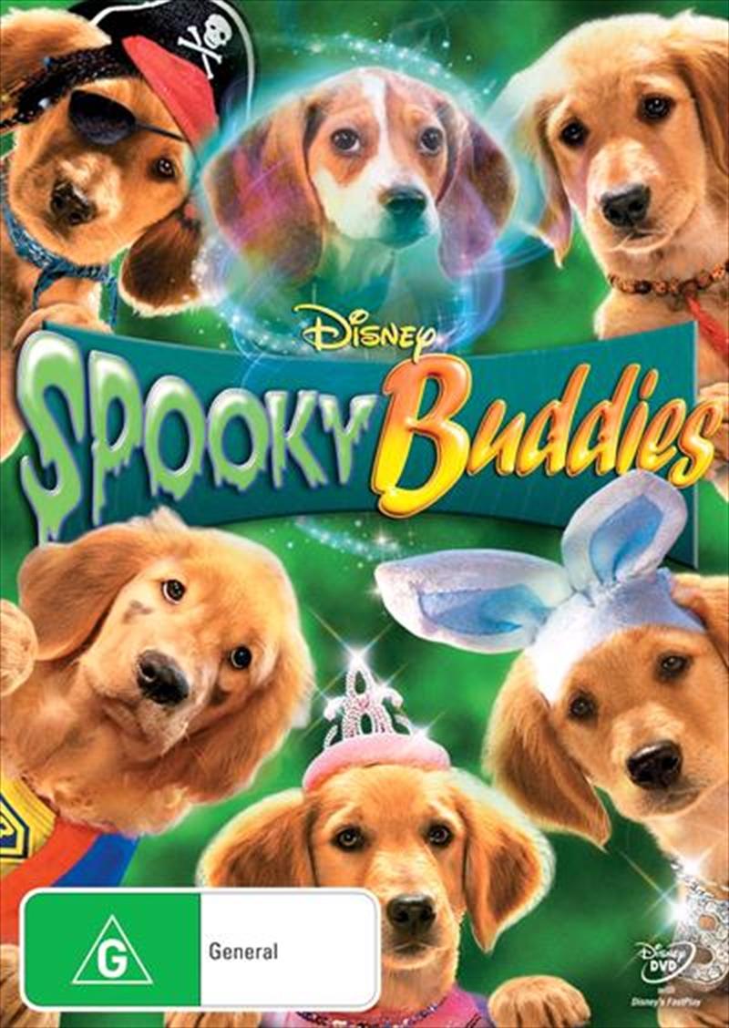 Spooky Buddies | DVD