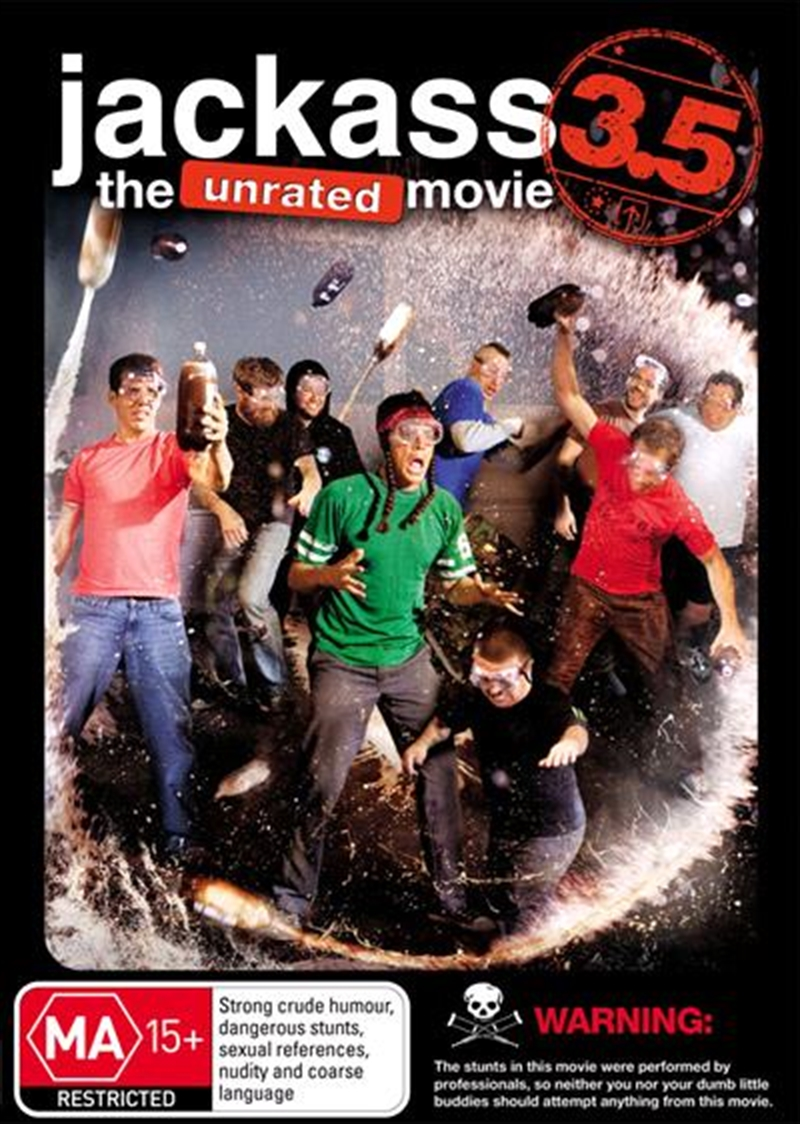 Jackass 3.5 - The Unrated Movie | DVD