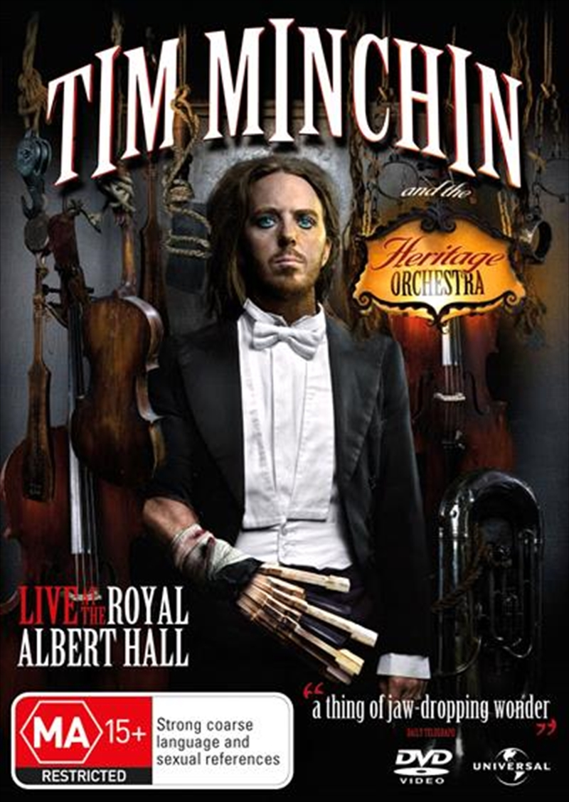 Tim Minchin And The Heritage Orchestra | DVD