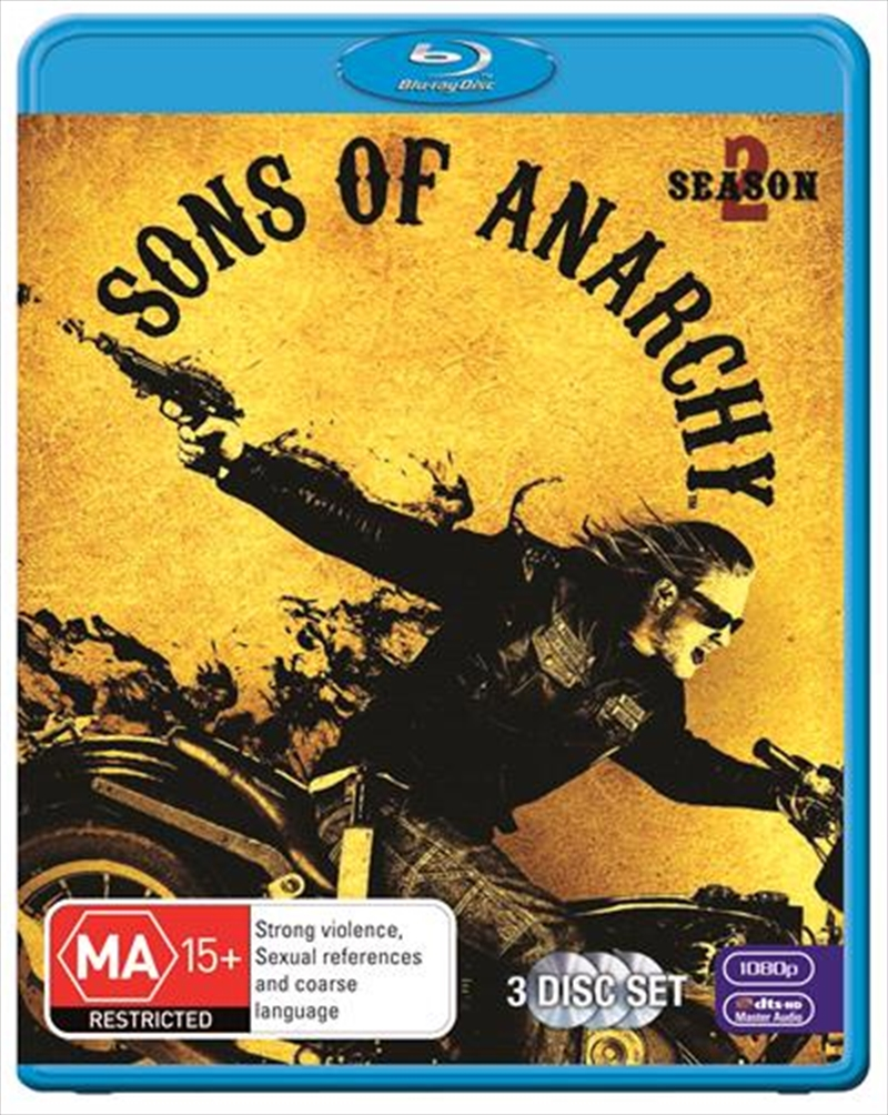 Sons Of Anarchy - Season 2 | Blu-ray