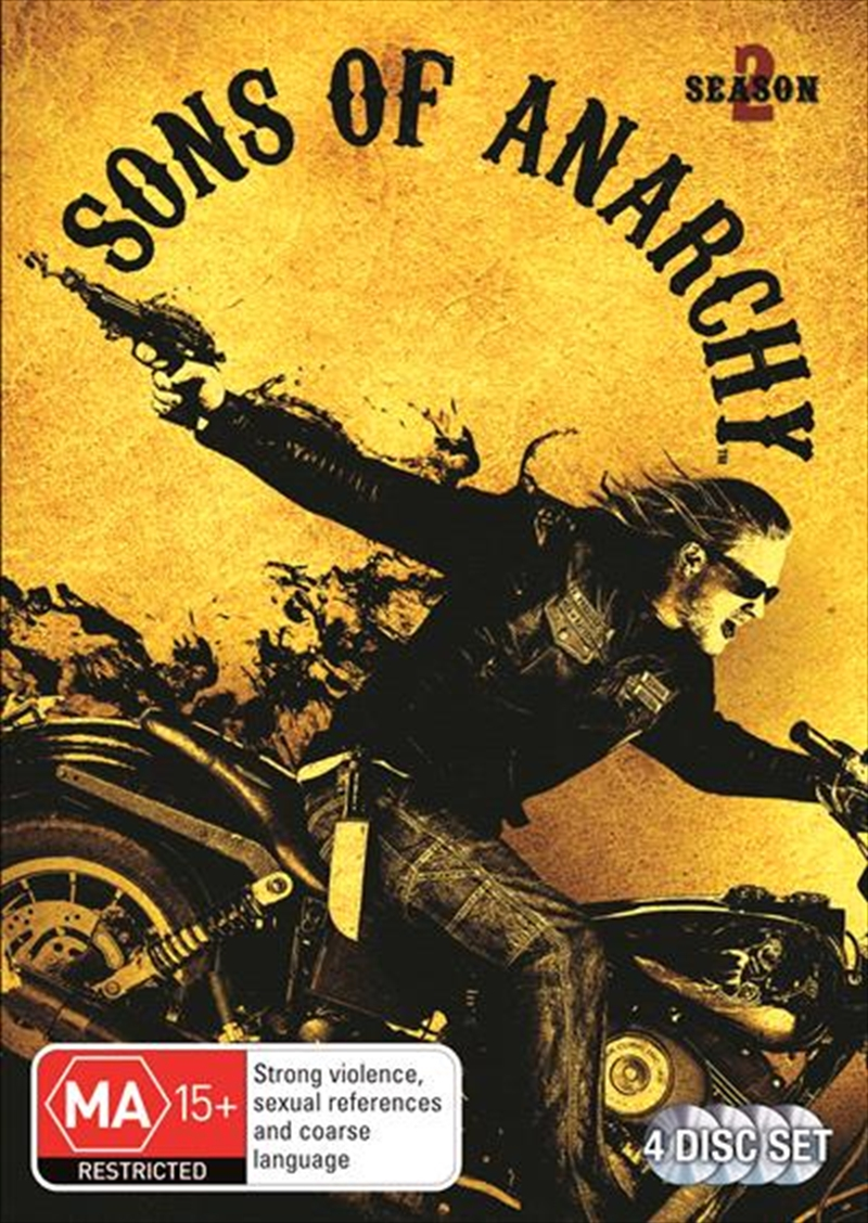 Sons Of Anarchy - Season 2 | DVD