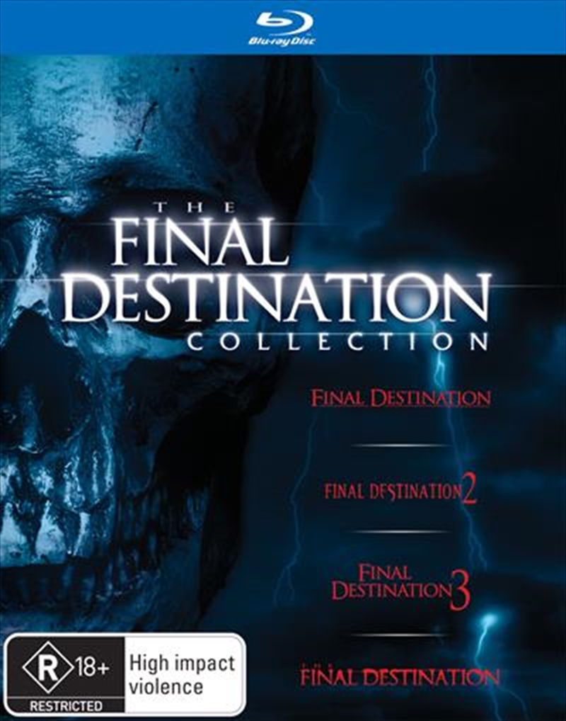 Final Destination Boxset - 1-4 Collection | Blu-ray