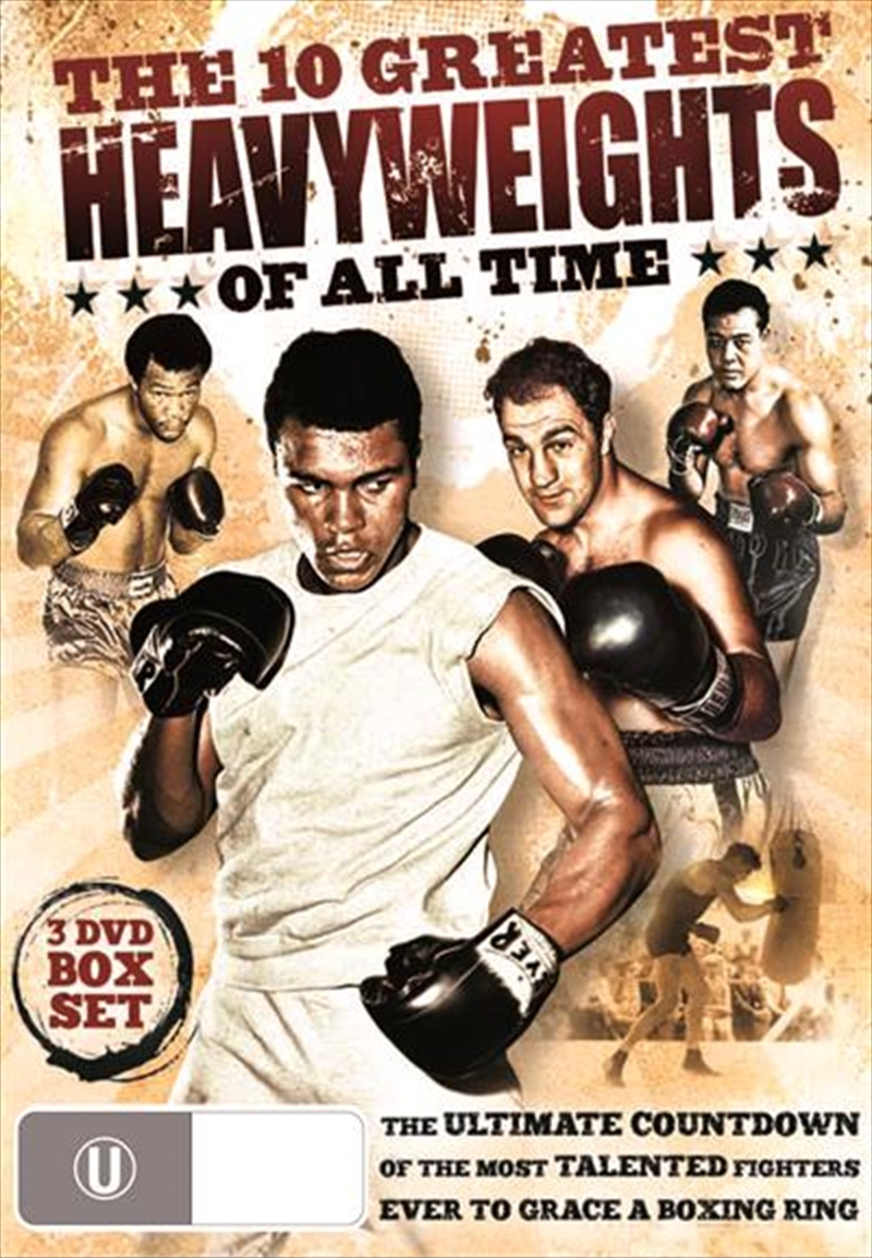 Boxing: 10 Greatest Heavyweights Of All Time   DVD
