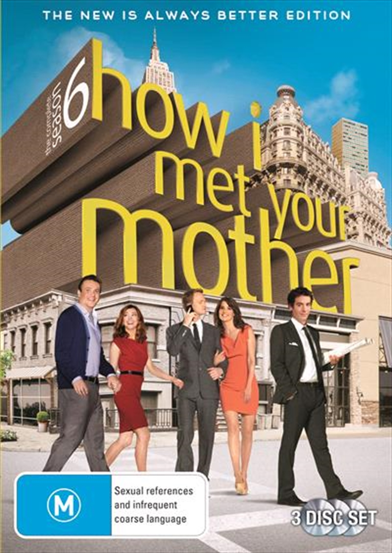 How I Met Your Mother - Season 6 | DVD