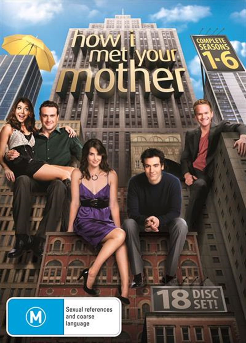 how i met your mother staffel 1-6