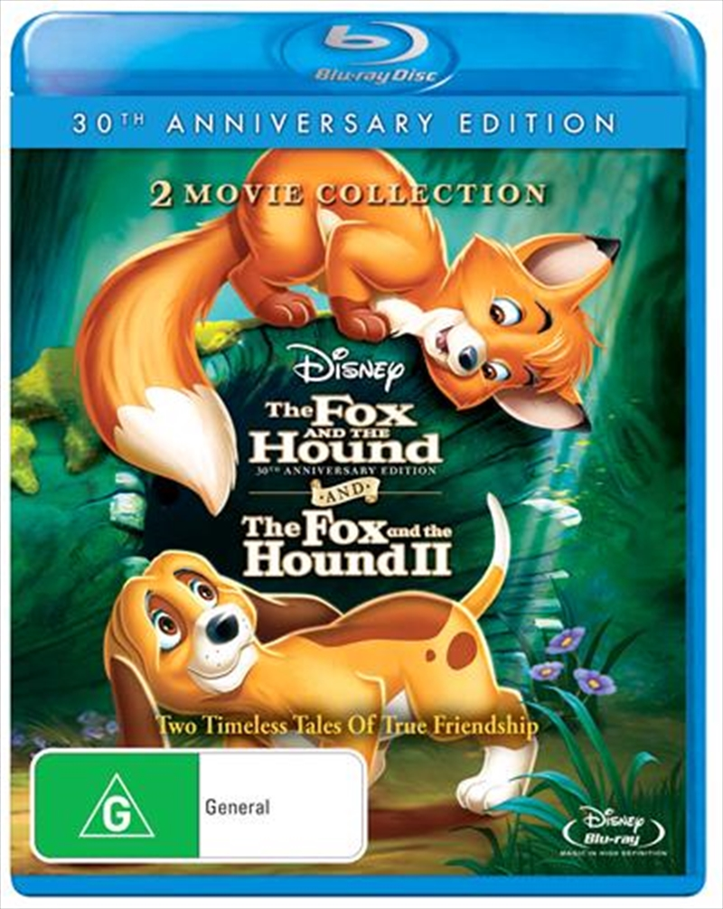 Fox And The Hound 1 & 2 Pack - 30th Anniversary Edition | Blu-ray