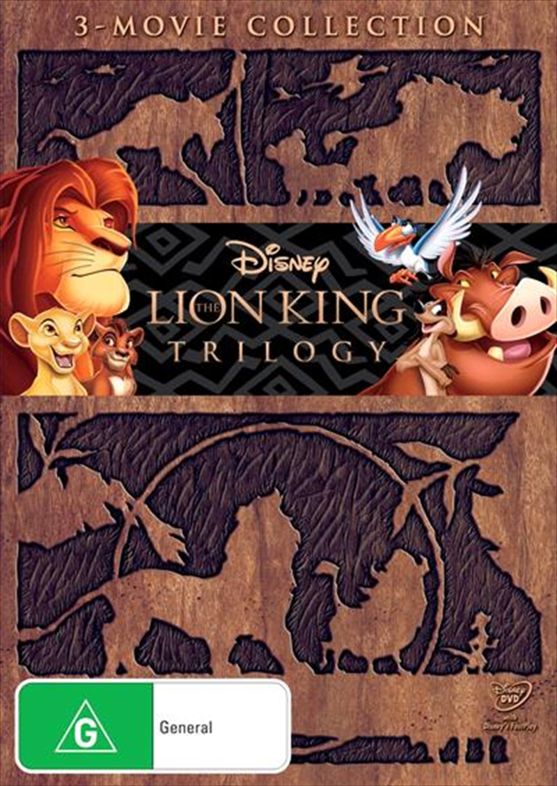 Buy Lion King Trilogy On Dvd On Sale Now With Fast Shipping