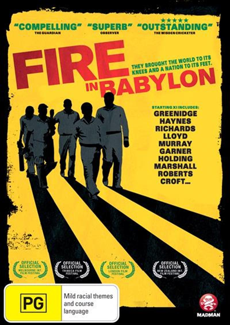 Fire In Babylon   DVD