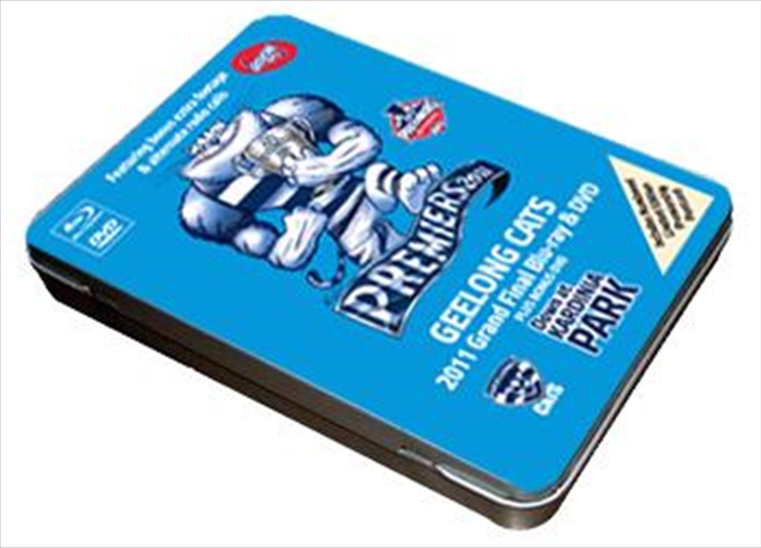 AFL: 2011 Premiers Grand Final Tin: Collector's Tin Box (Inc Limited Collector's Postcard) | Blu-ray