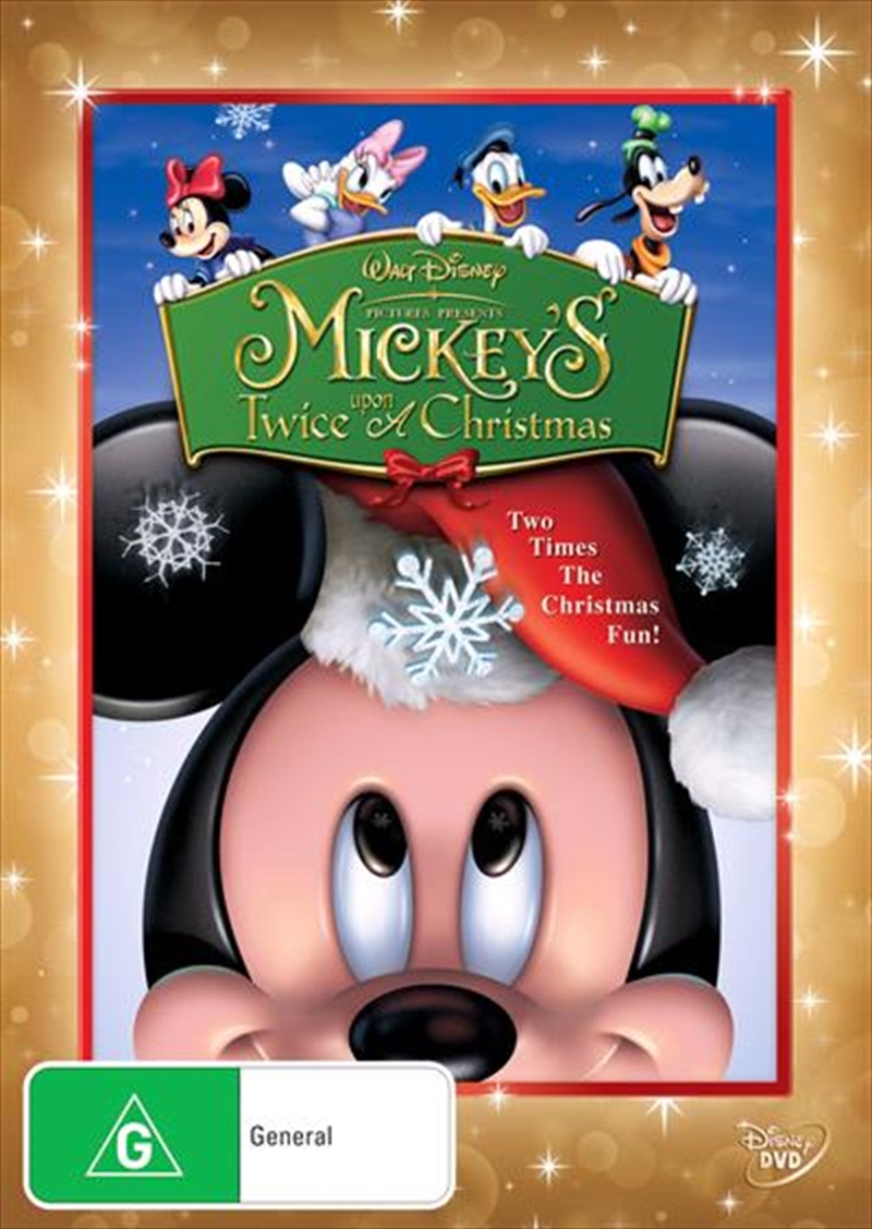 Mickey's Twice Upon A Christmas | DVD