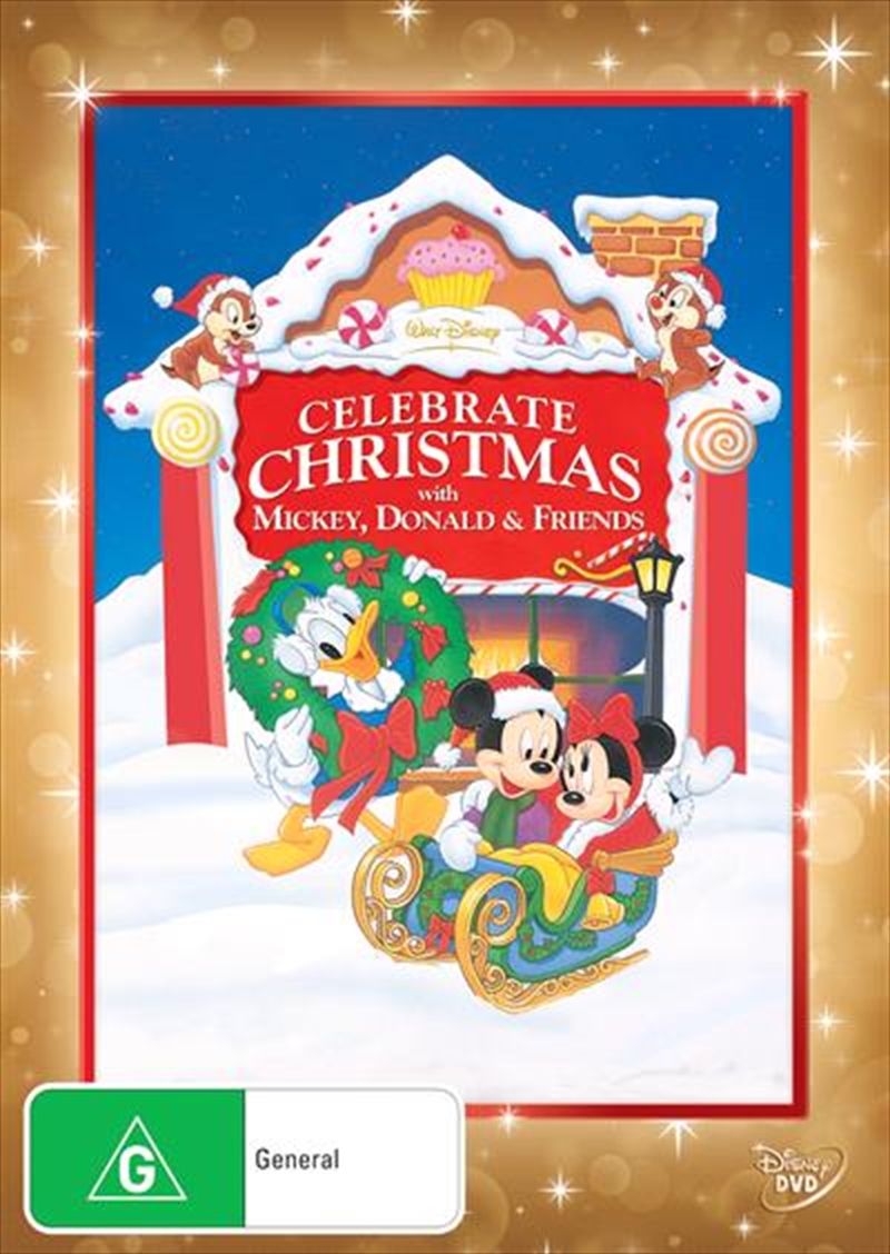 Celebrate Christmas With Mickey, Donald and Friends | DVD