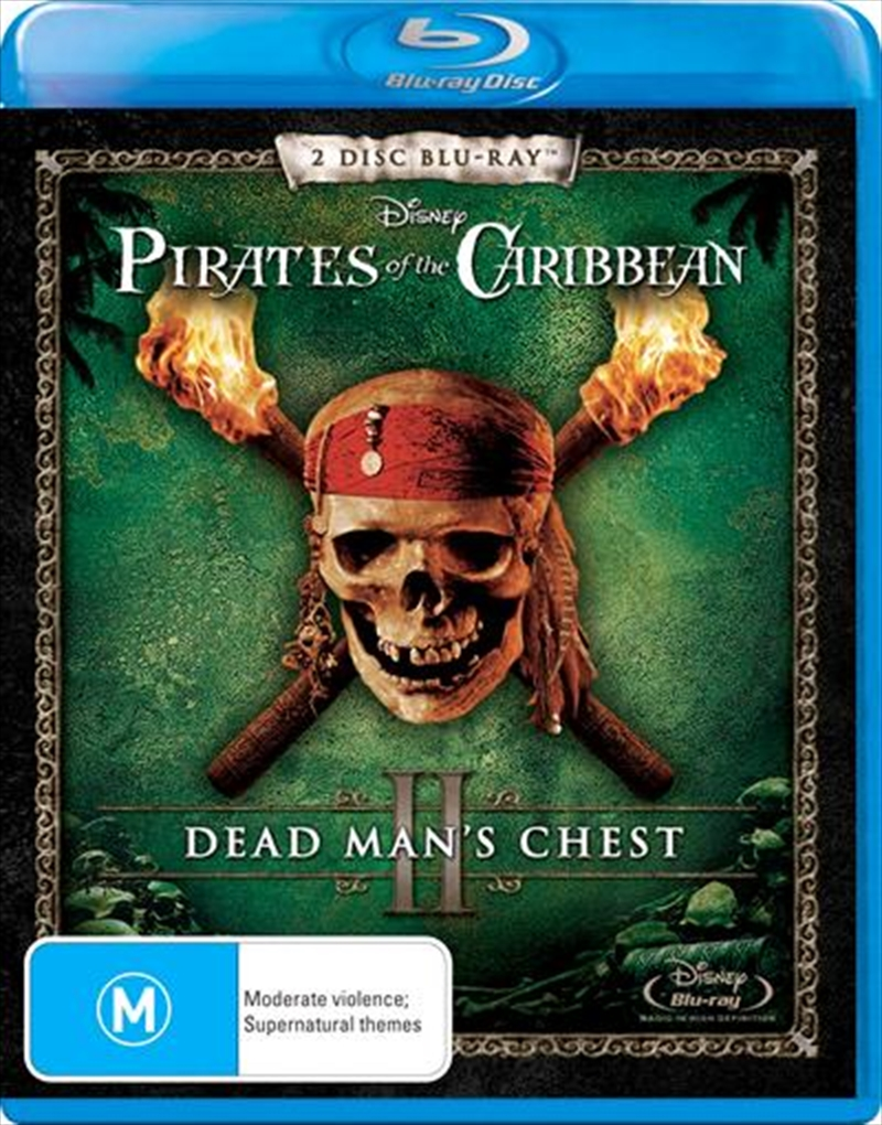 Pirates Of The Caribbean - Dead Man's Chest | Blu-ray