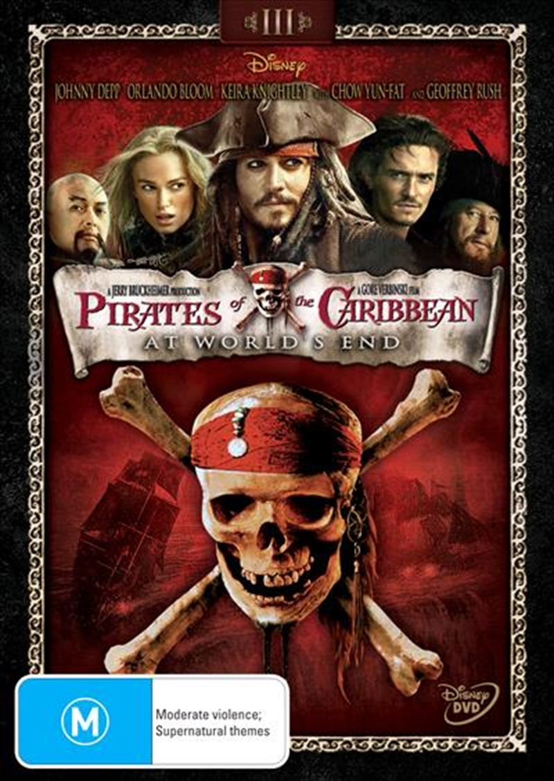 Pirates Of The Caribbean - At World's End | DVD