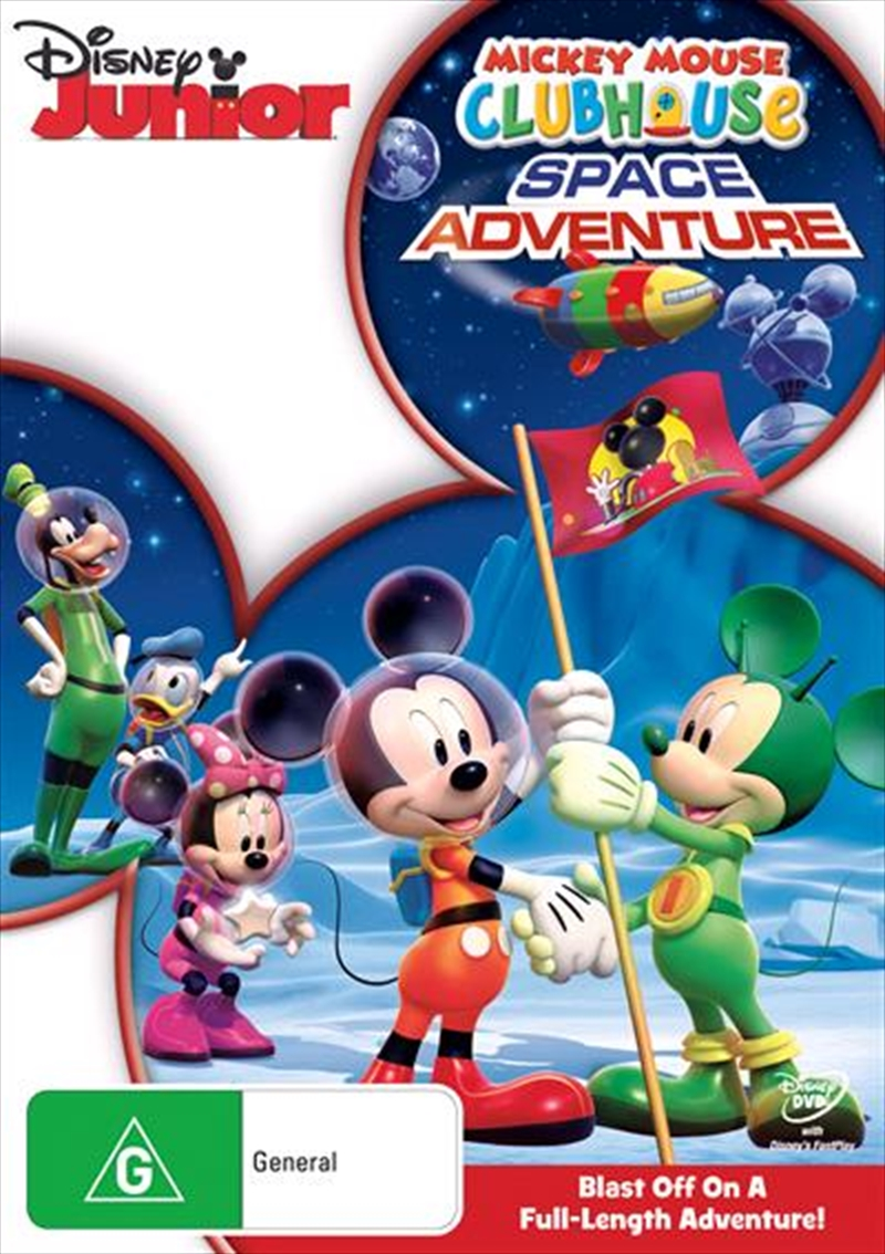 Mickey Mouse Clubhouse - Space Adventure | DVD