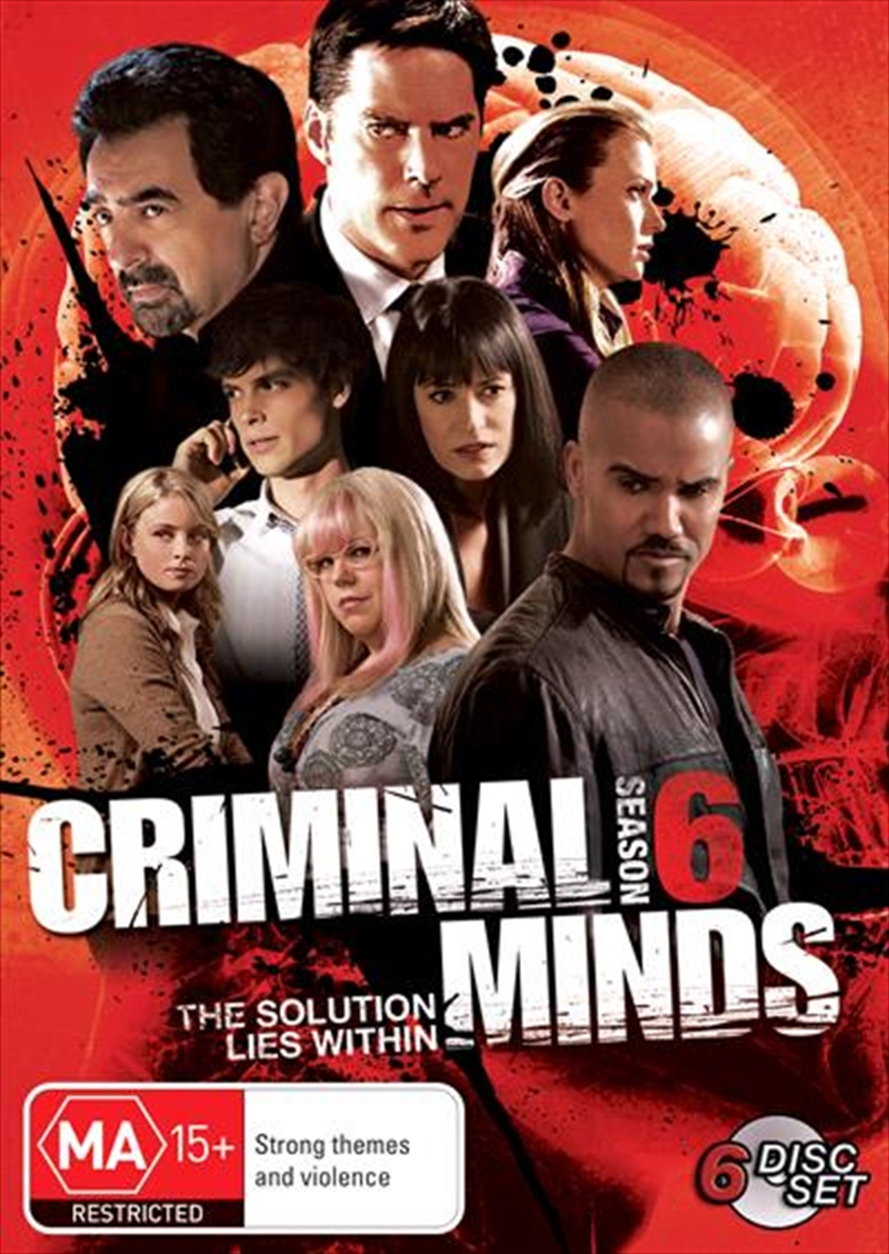 Criminal Minds - Season 6 | DVD