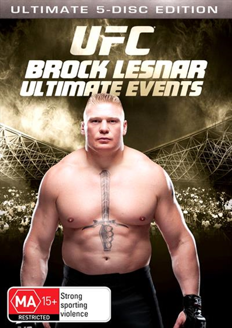 Ufc Brock Lesnar Ultimate Events Collection Sport Dvd