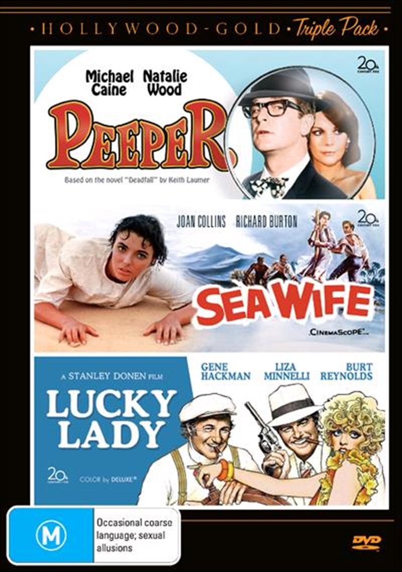 Peeper/ Sea Wife / Lucky Lady | DVD