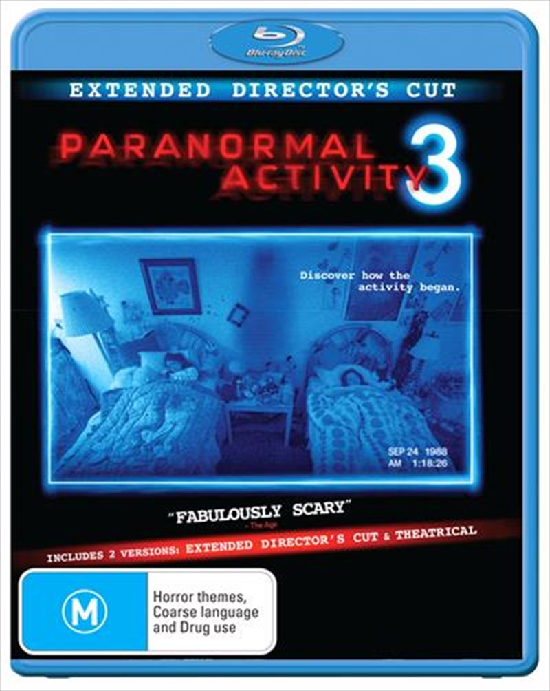 Paranormal Activity 3 | Blu-ray