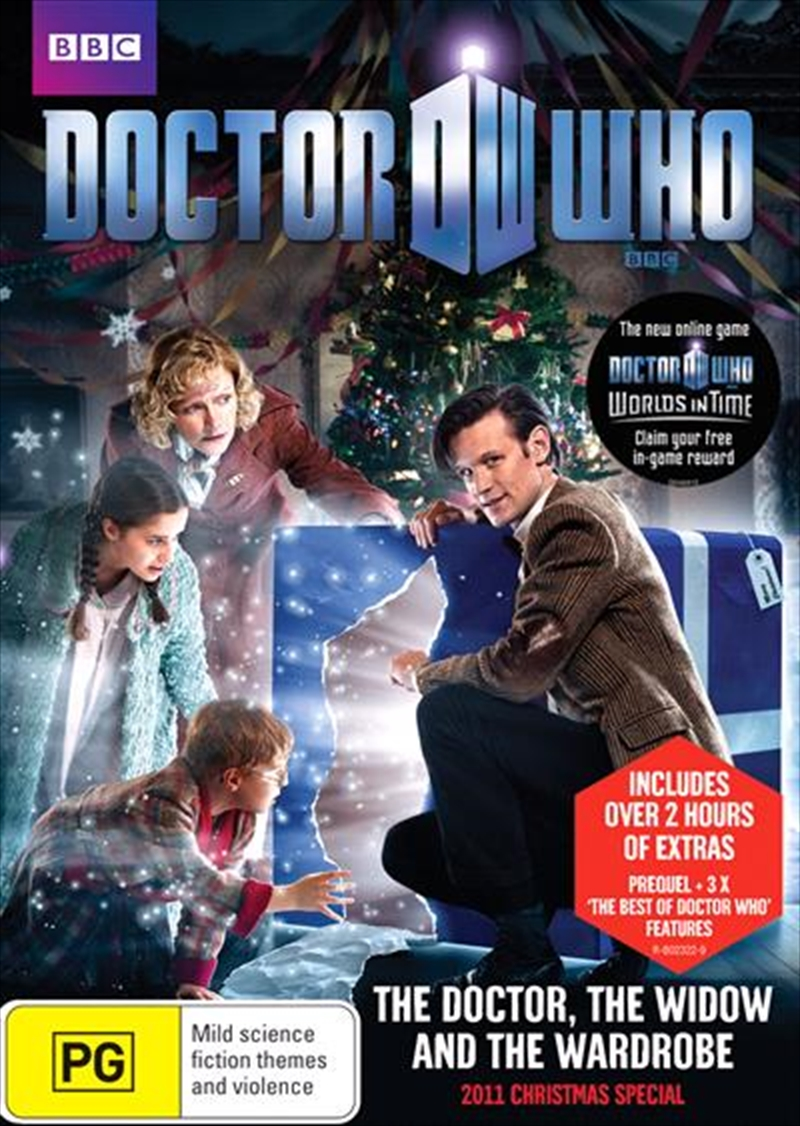 Doctor Who - The Doctor, The Widow And The Wardrobe - 2011 Christmas Special   DVD