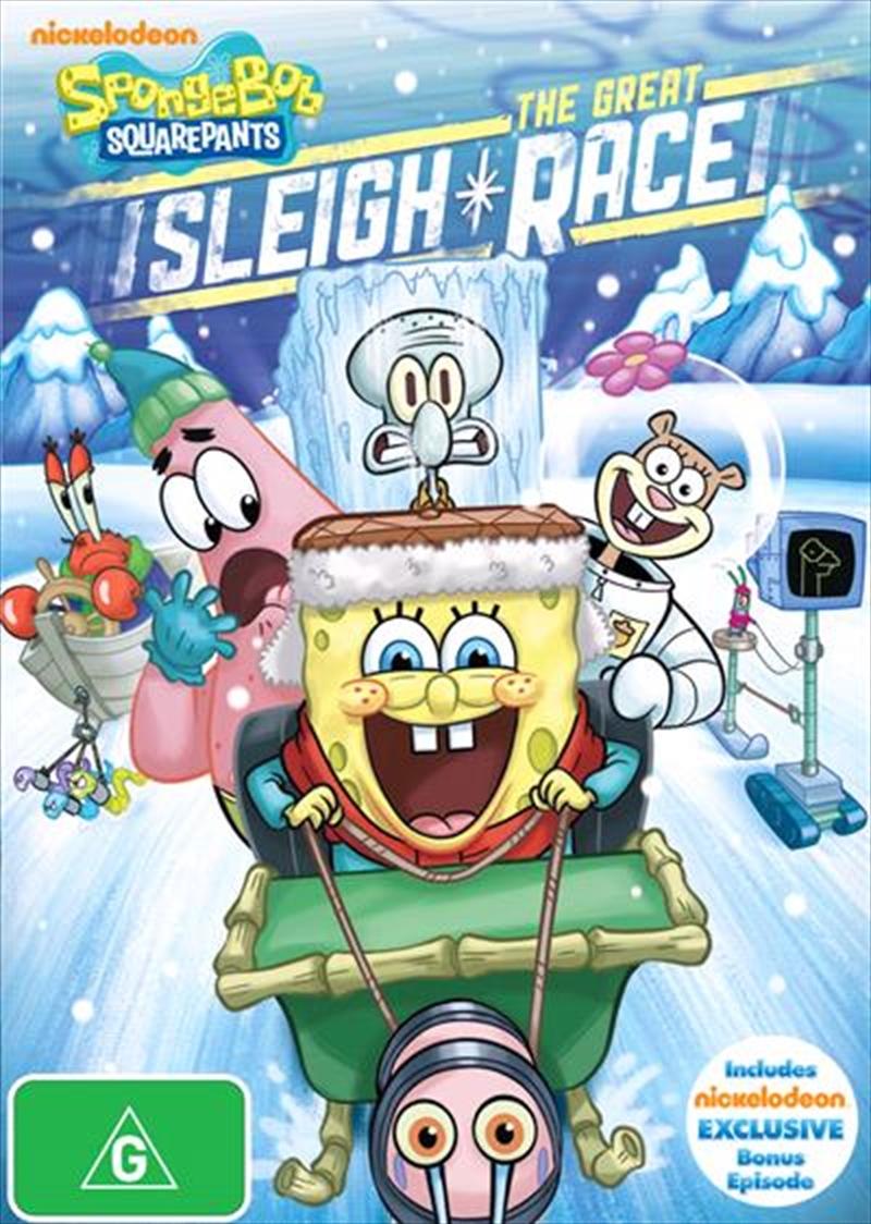 Spongebob Squarepants - The Great Sleigh Race | DVD