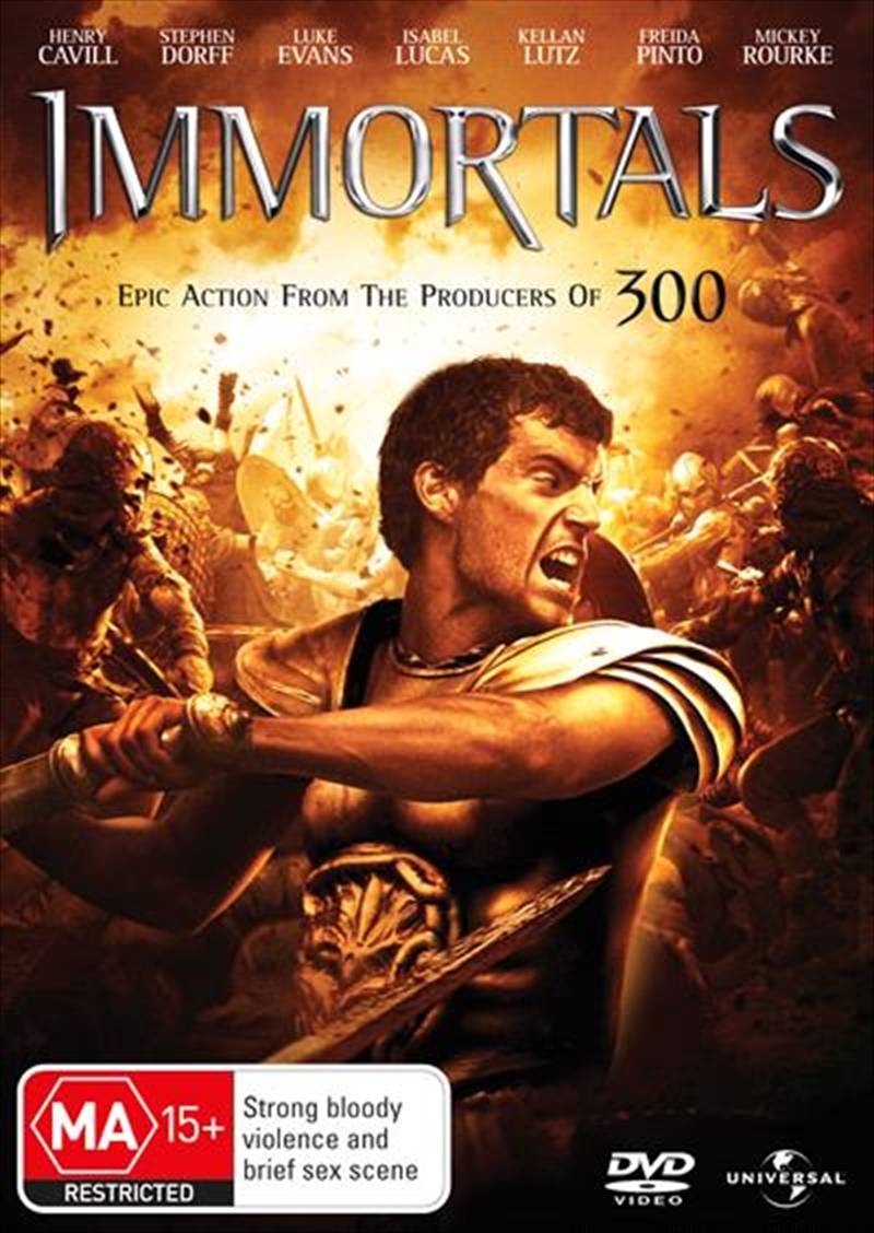 Immortals | DVD
