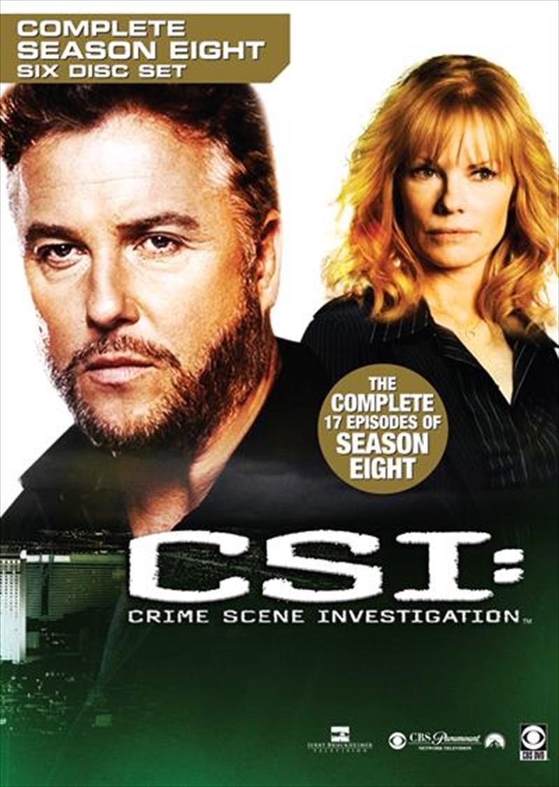 CSI: Crime Scene Investigation - Season 08 | DVD