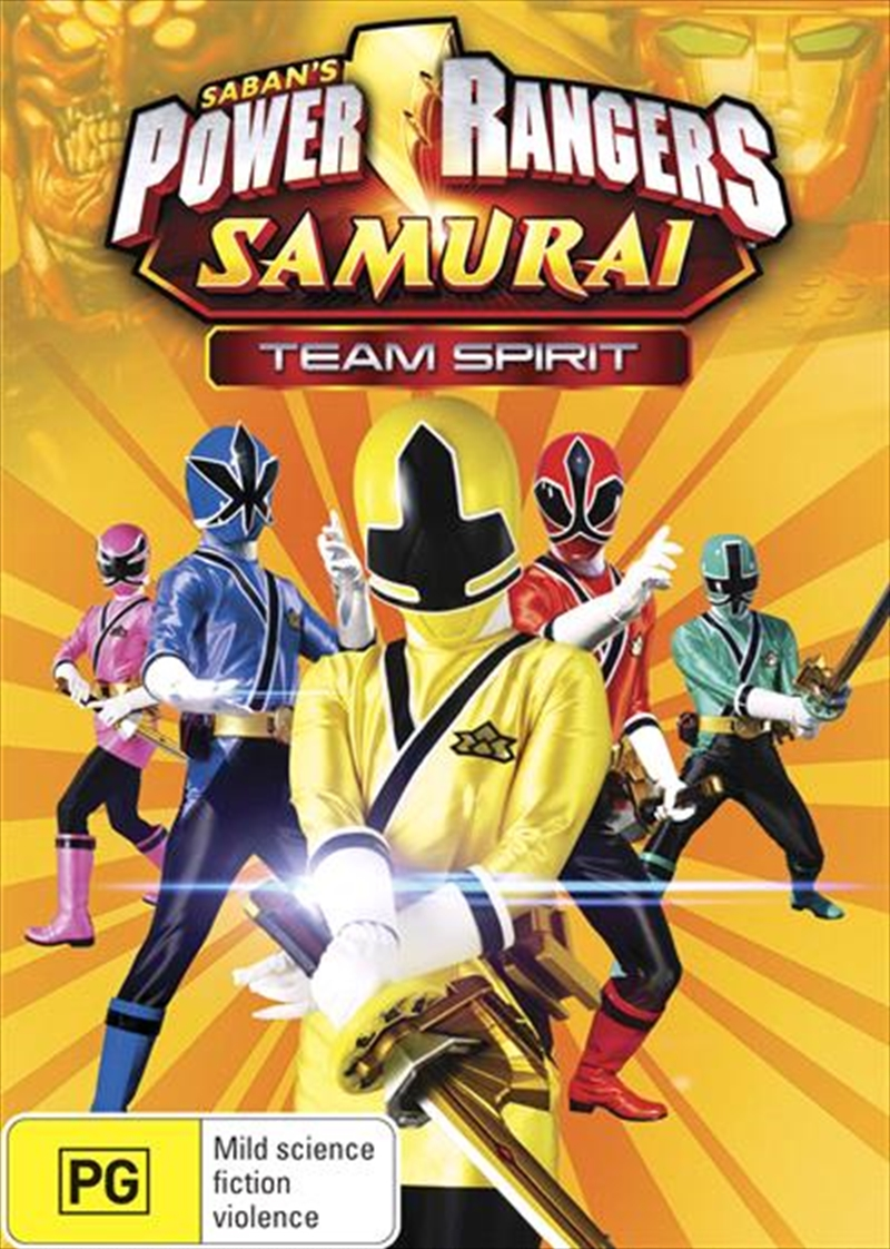 Power Rangers - Team Spirit - Vol 3   DVD