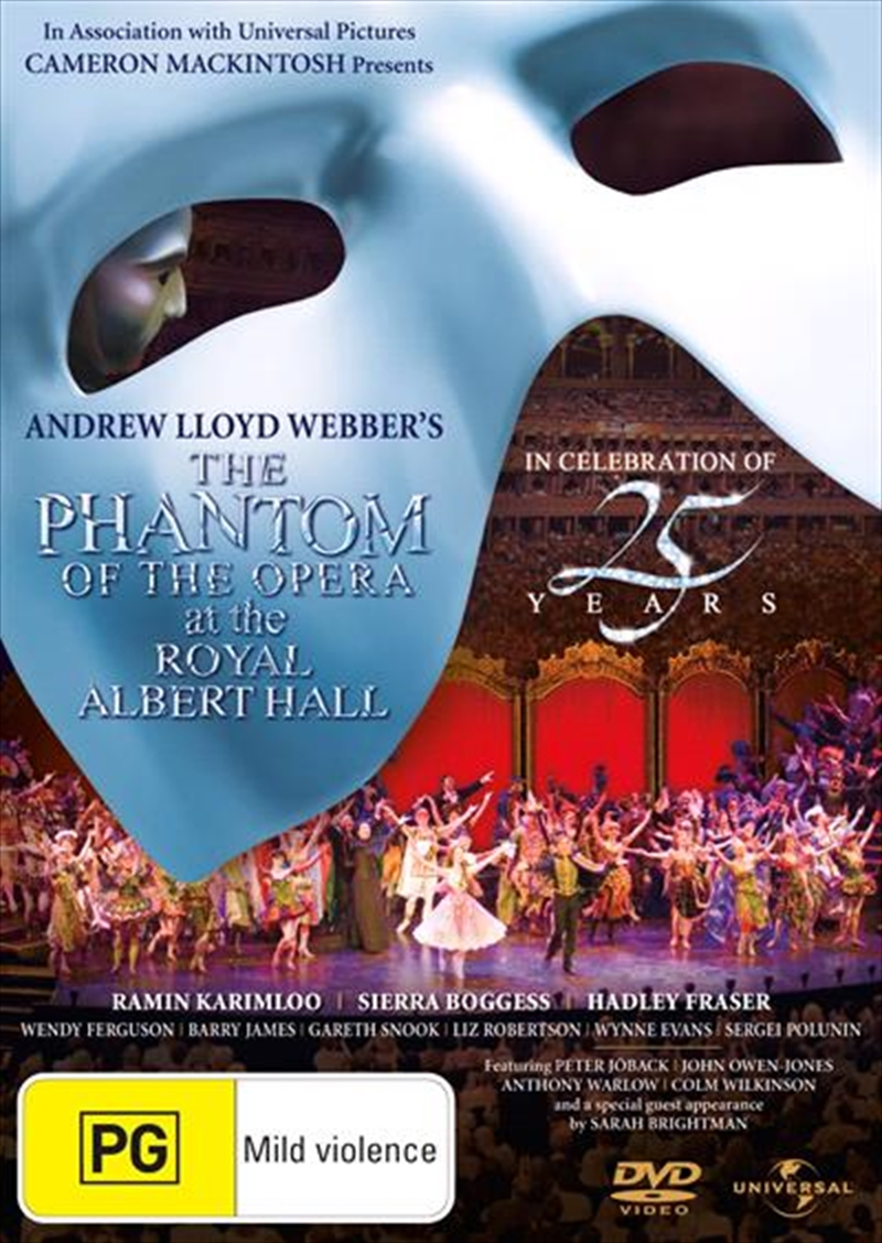 Phantom Of The Opera At The Royal Albert Hall In Celebration of 25 Years, The   DVD