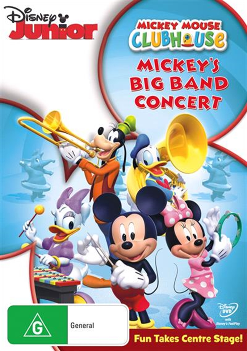 Mickey Mouse Clubhouse - Big Band Concert | DVD