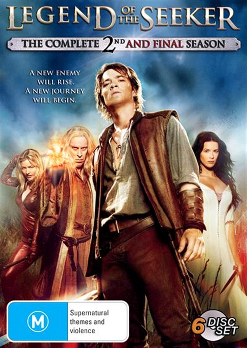 Legend Of The Seeker - Season 2 | DVD