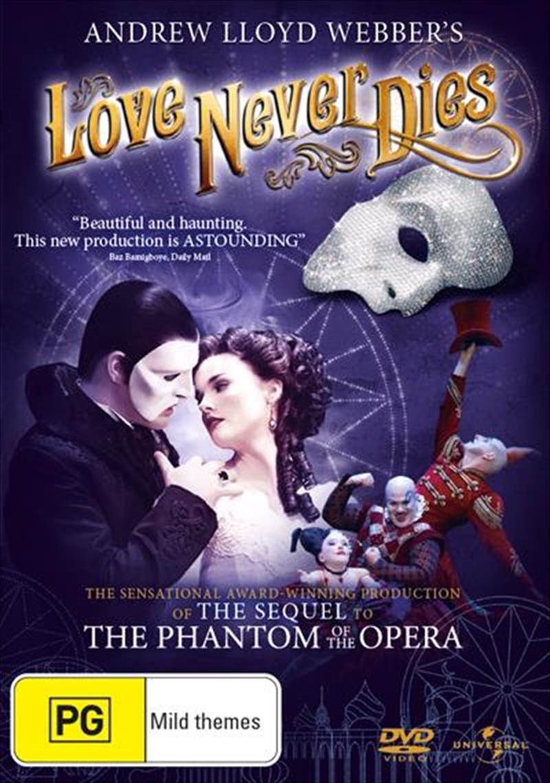 Love Never Dies | DVD