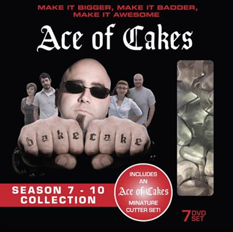 Ace Of Cakes: Series 7-10 | DVD