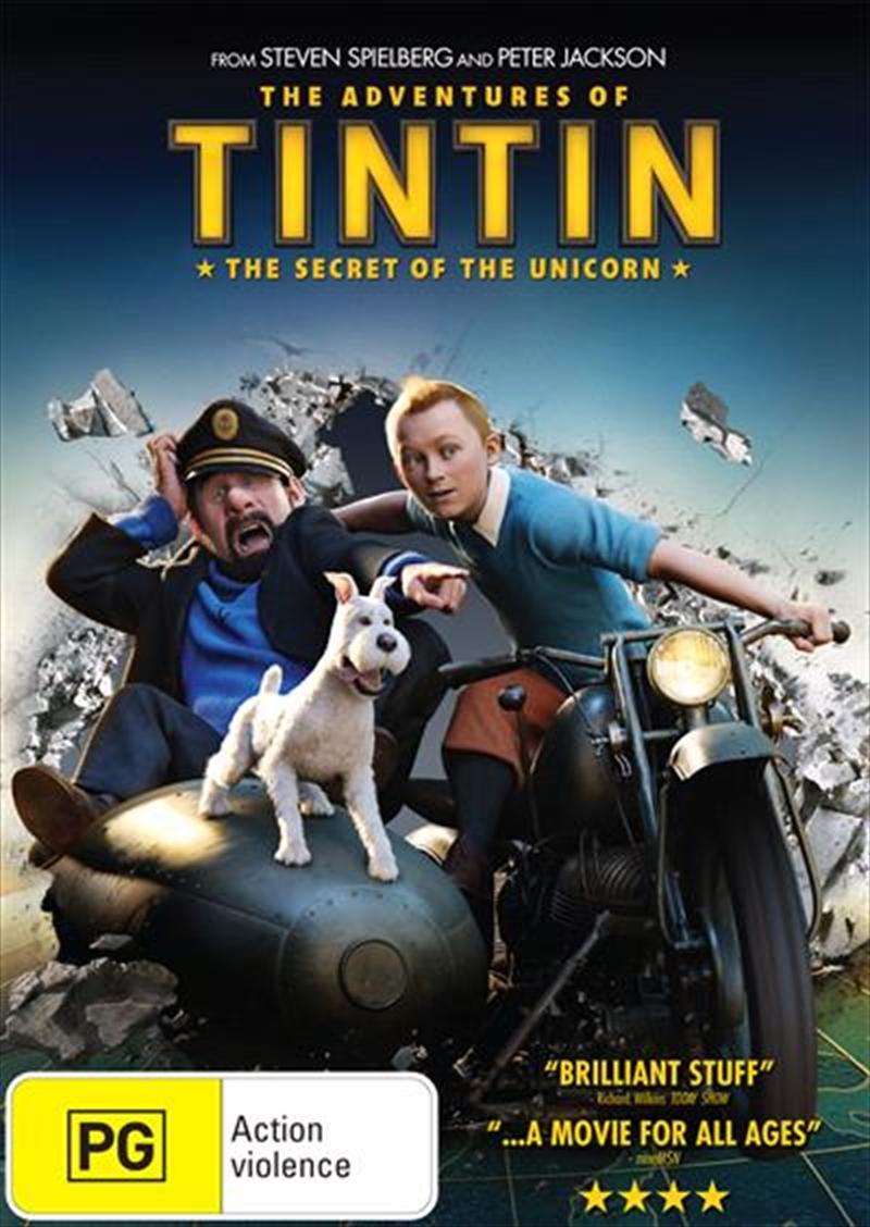 Adventures Of Tintin - Secret Of The Unicorn, The | DVD