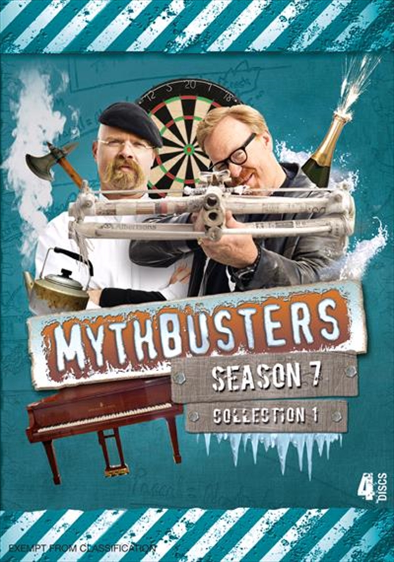 Mythbusters: Season 7: Collection 1 | DVD