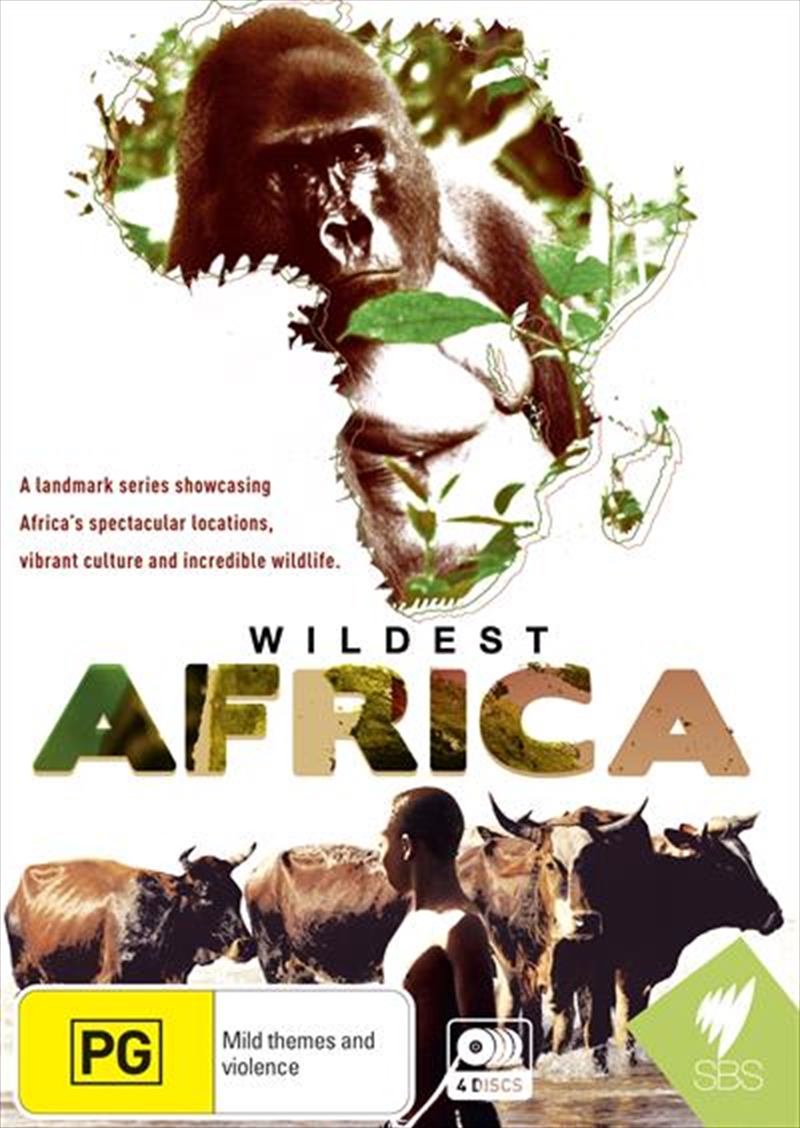 Wildest Africa | DVD