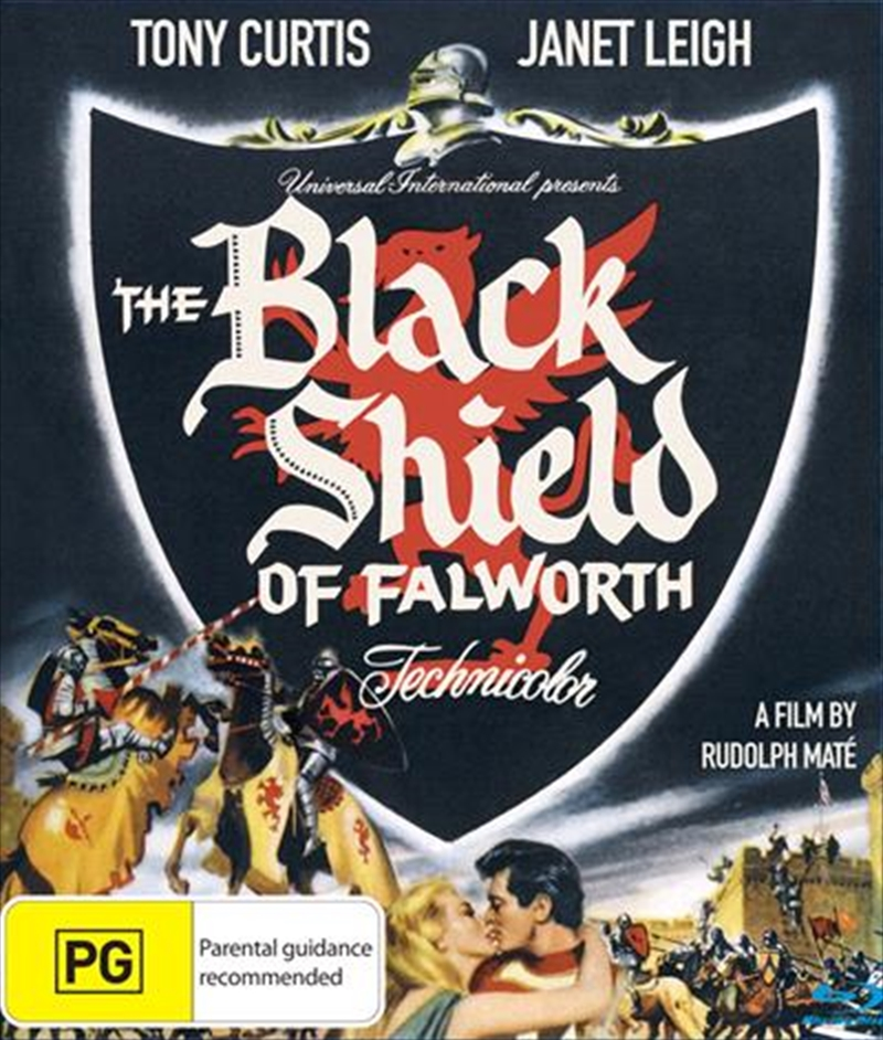 Black Shield Of Falworth, The | Blu-ray