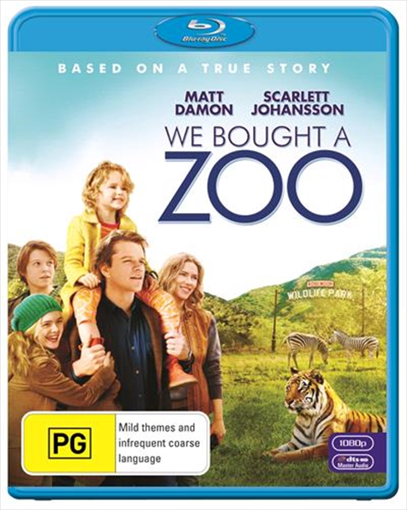 We Bought A Zoo | Blu-ray