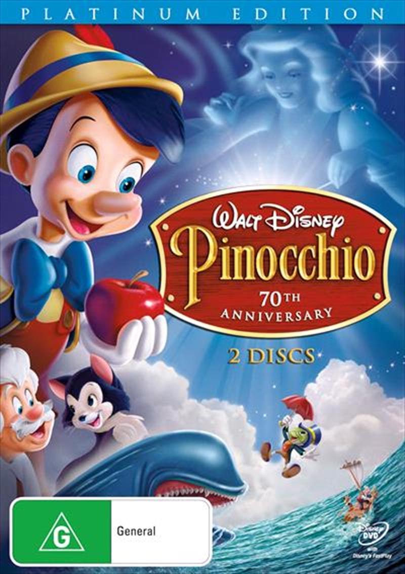 Pinocchio - Platinum Edition | DVD