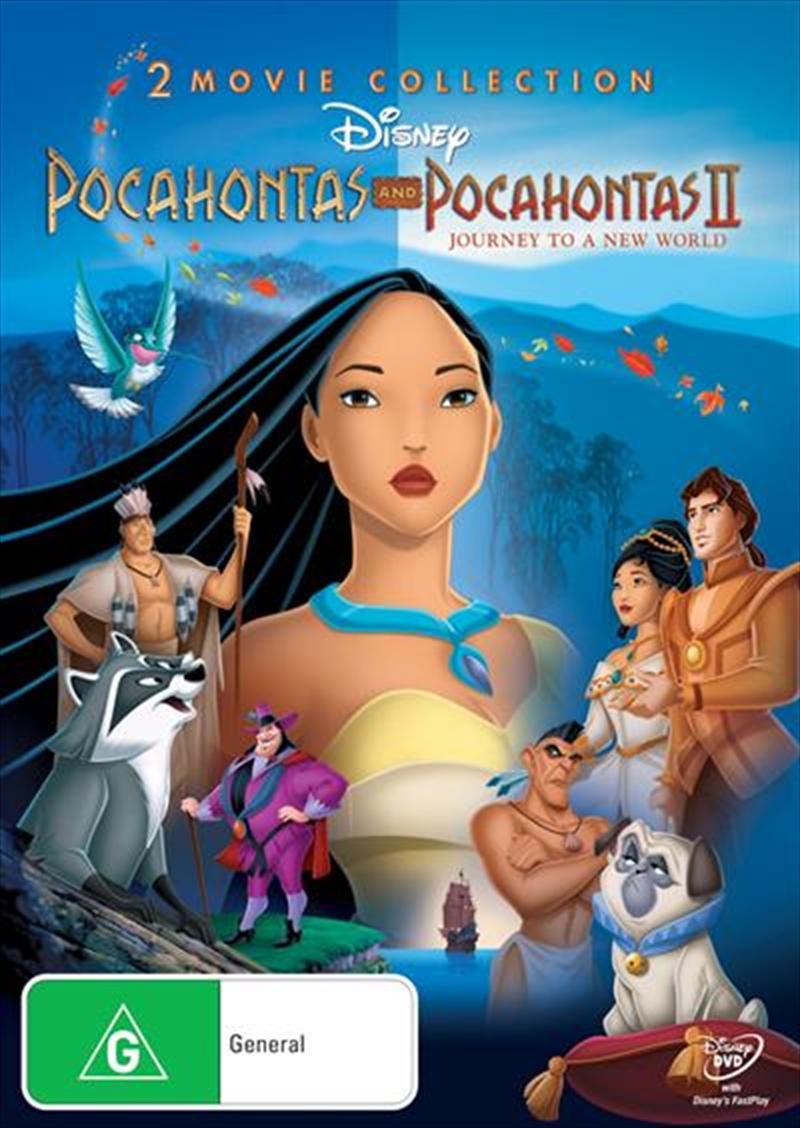 Pocahontas  / Pocahontas II - Journey To A New World | DVD