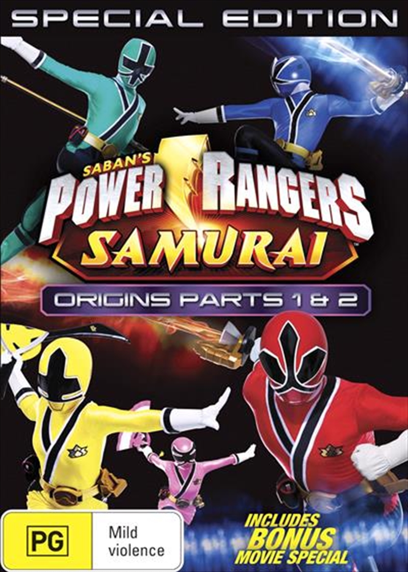 Power Rangers - Origins Specials - Vol 4 | DVD