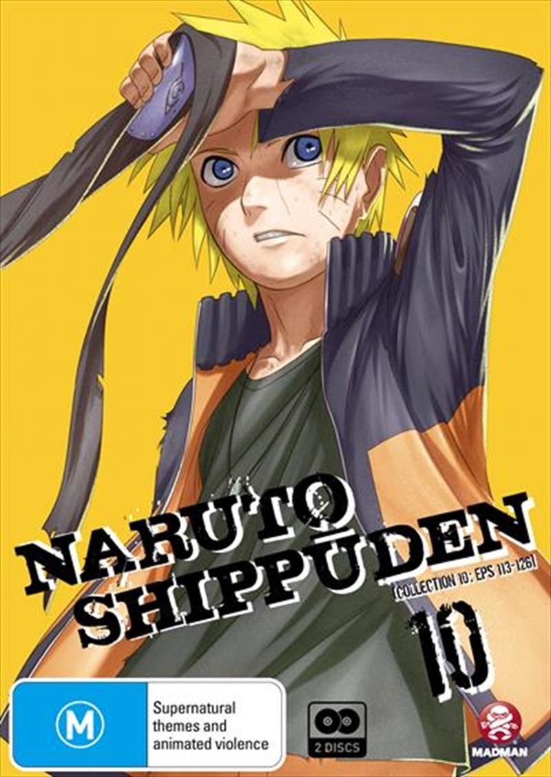Naruto Shippuden - Collection 10 - Eps 113-126 | DVD