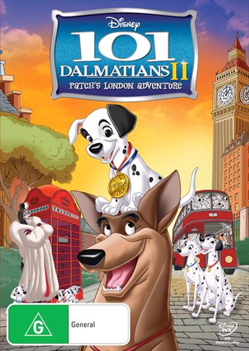 101 Dalmatians 2: Patch's London Adventure | DVD