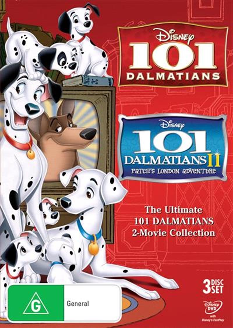 101 Dalmatians / 101 Dalmatians 2 - Patch's London Adventure   DVD