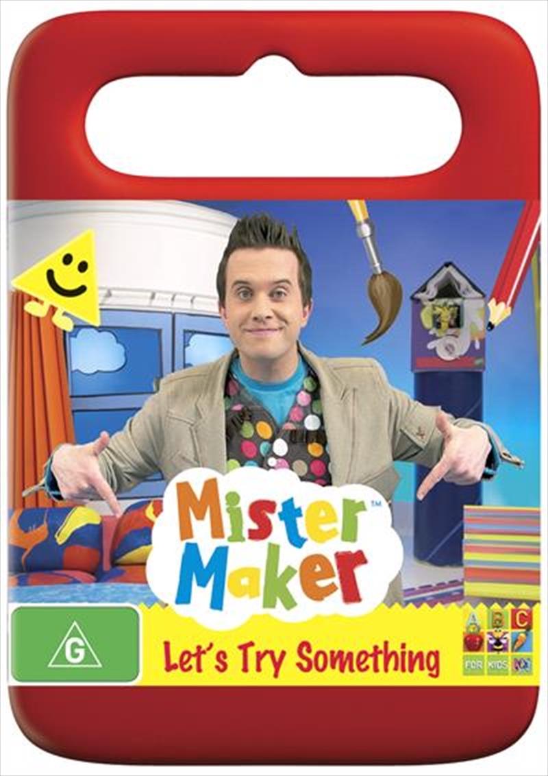Mister Maker - Let's Try Something | DVD