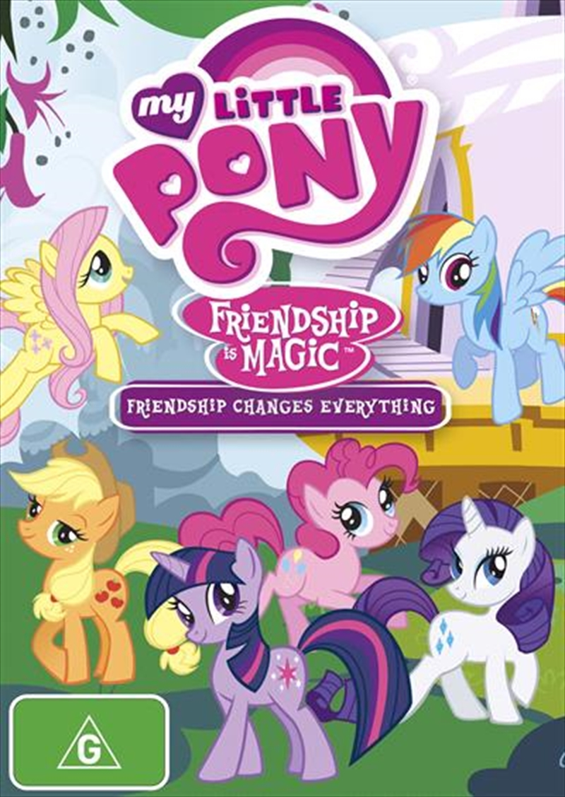 my little pony friendship is magic  friendship changes