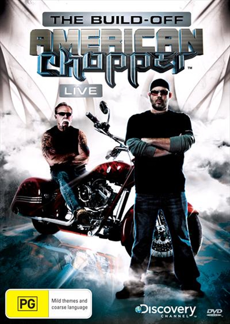 American Chopper - Live - The Build Off | DVD