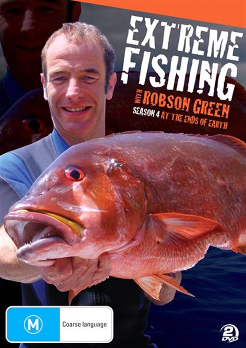 Extreme Fishing With Robson Green: Season 4 | DVD