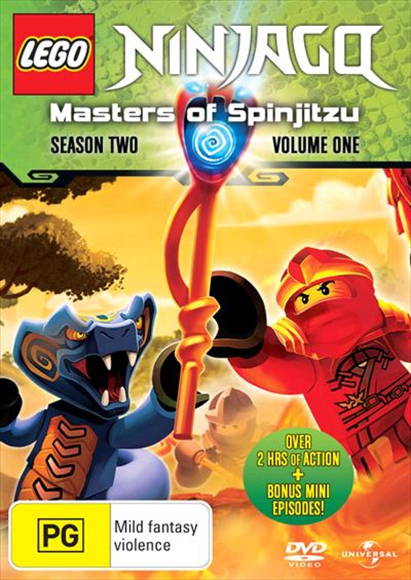 LEGO Ninjago - Masters of Spinjitzu - Series 2 - Vol 1 | DVD